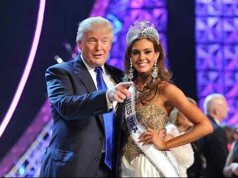 Image result for Trump at a beauty pageant you tube