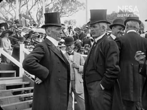 Naming the Federal Capital of Australia, March 12th 1913 - digital restoration 2013