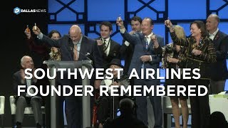 A toast of Wild Turkey to remember SWA's Herb Kelleher