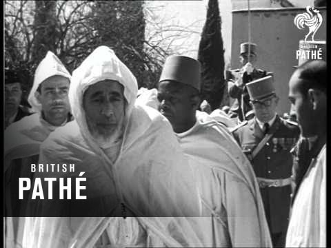 Morocco -  Sultan Escapes Assassination (1954)