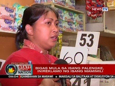 SONA: Nabiling bigas sa isang palengke sa Quezon City, inireklamo dahil tila peke raw