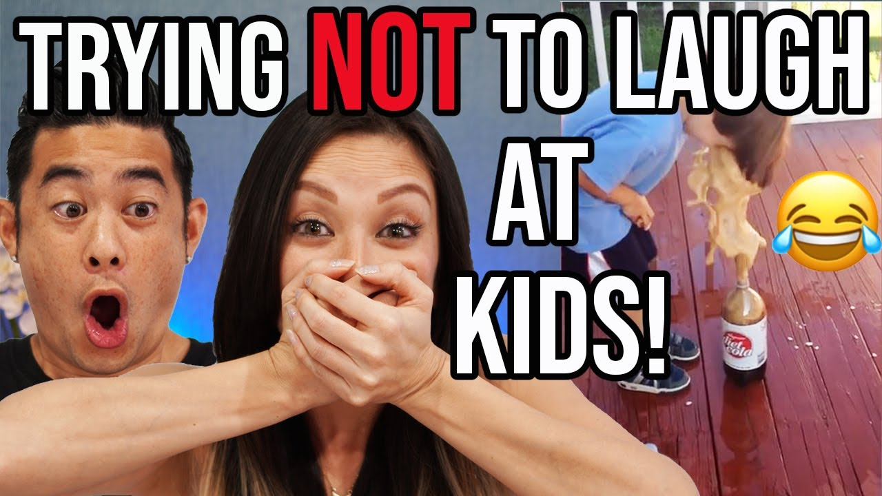 Trying Not To Laugh At Kids Is Too Hard! (SO FUNNY!!)