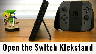 How to Open the Nintendo Switch Kickstand