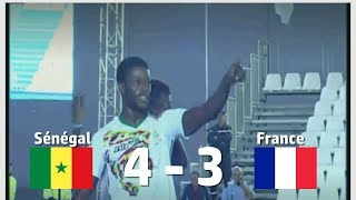 Coupe du monde mini football: le sénégal bat la france et se qualifie en demi-finale