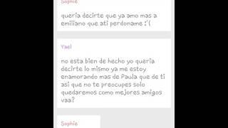 Historia de LemonGrass:#Sophiliano y #Yaula Paula y yael juntos♥ / Emiliano y Sophie Pareja♡