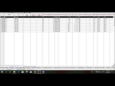 Sensitivity Factor calculation using digSILENT PowerFactory
