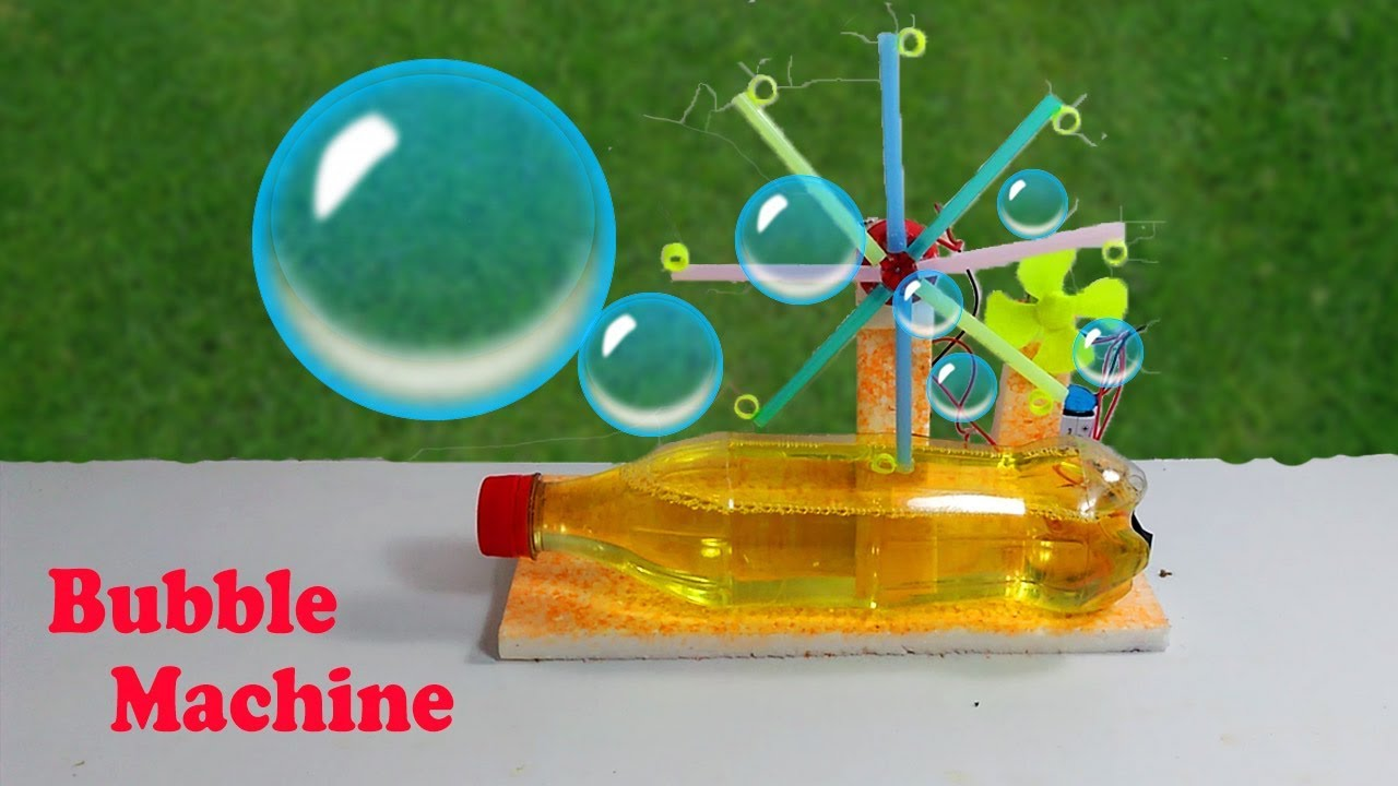 Bubble Machine || How to Make Bubble Machine at Home - YouTube