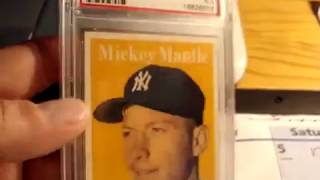 DarthFungus Video Archive 6/26/2010 (Mickey Mantle Baseball Card Collection  update  + bonus)
