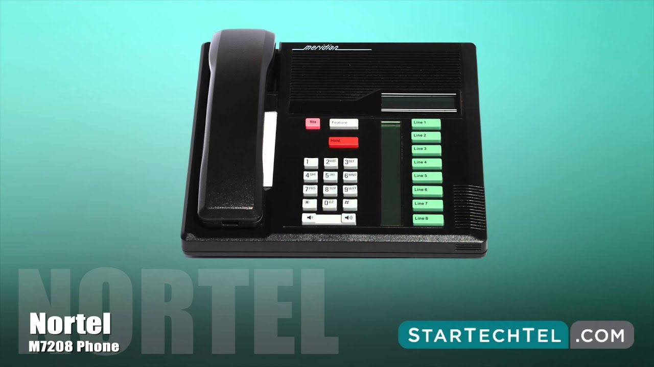 how to park and retrieve calls on the nortel m7208 phone youtube rh youtube com nortel norstar m7208 manual nortel m7208 guide d'utilisation