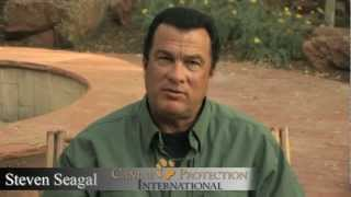 Steven Seagal On Canine Protection International (cpi)