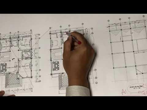 Đồ án Tổng Hợp - Buổi 1 - Sửa Bản vẽ Kiến trúc 1