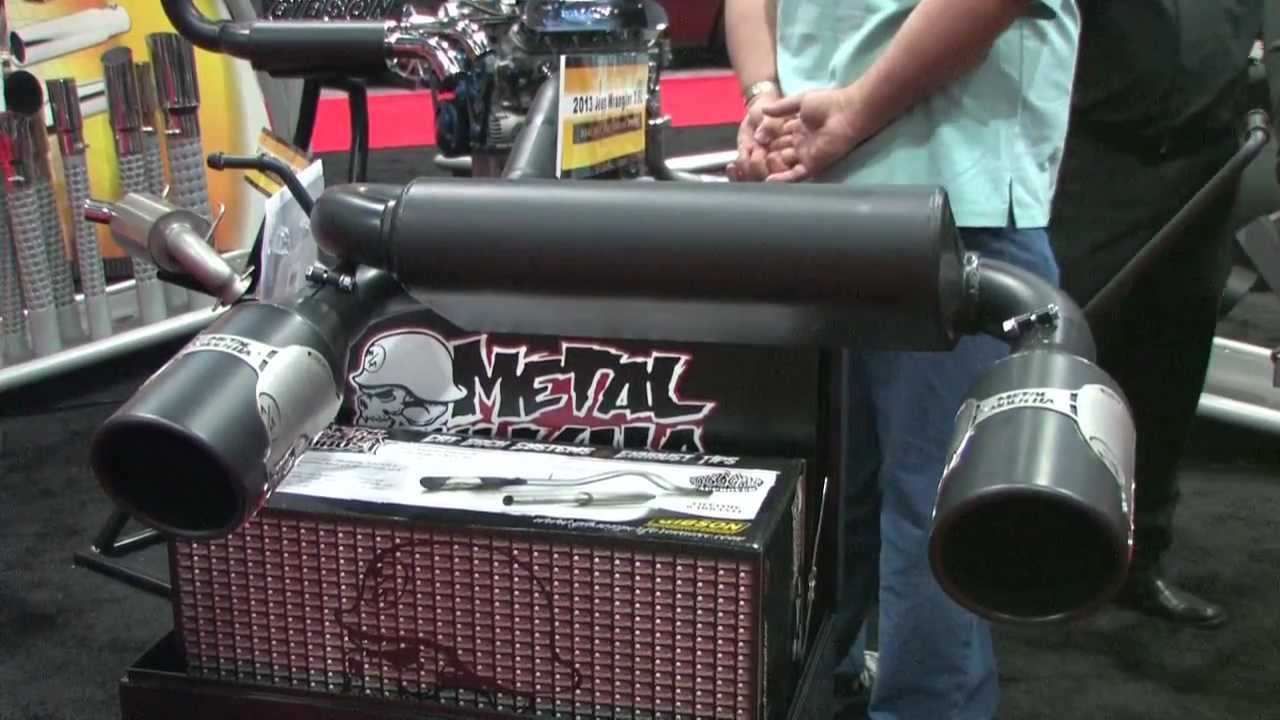 Gibson Exhaust Metal Mulisha Jeep Applications Youtube