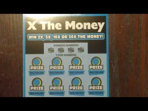 PA ScratchKing PA Pt 1 - X The Money Pennsylvania Lottery Scratch Off Tickets