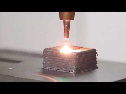 Additive Manufacturing: Laser Metal Deposition with coaxial wire supply