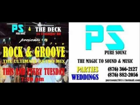 ROCK & GROOVE LOVERS ROCK MIX......PURE SOUNZ with DJ DWIE(dewey) 2012.wmv