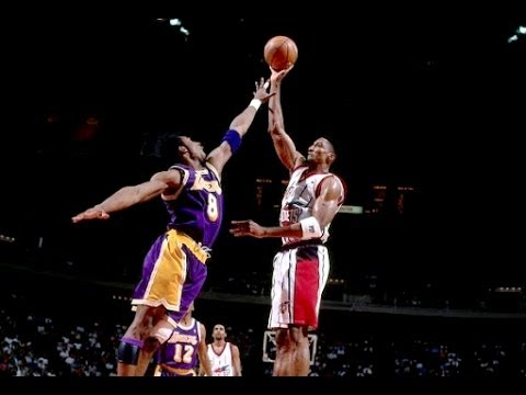 Rockets vs Lakers - 1999 playoffs (Game 3)