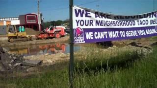 Cincinnati Northgate Taco Bell Progress 5/2/12 And 5/11/12
