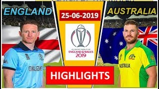 England vs Australia - Match Highlights(Result) | ICC Cricket World Cup 2019