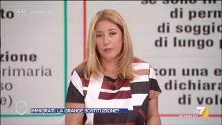 Caso Facci, Gaia Tortora: Ricevuto in diretta un messaggio dall'ordine, confermo che si tratta ...