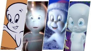 Casper the Friendly Ghost Evolution in Movies & Cartoons
