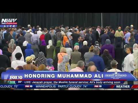 Похороны Мухаммада Али полный охват  Muhammad Ali Funeral (Джаназа намаз)