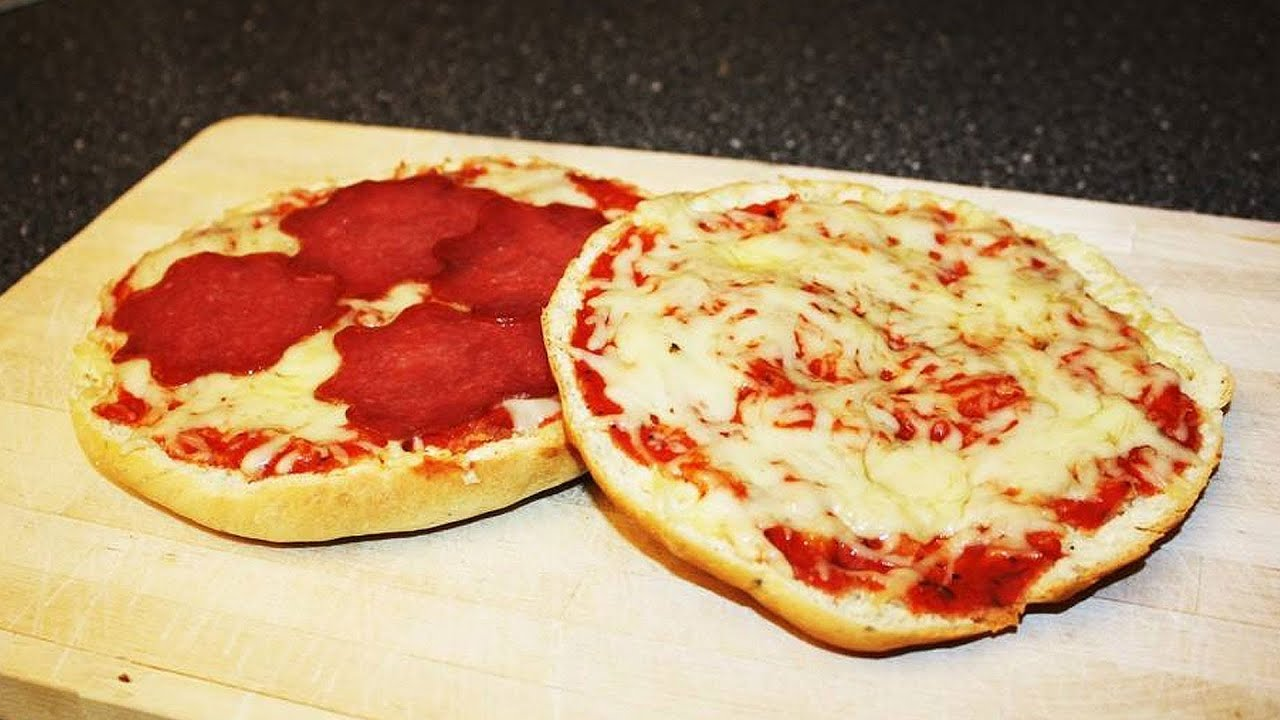 rezept pizzaburger schneller snack schnell einfach selber machen youtube. Black Bedroom Furniture Sets. Home Design Ideas