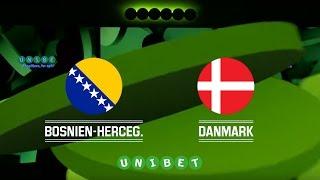 Danmark - Bosnien i Kirin Cup