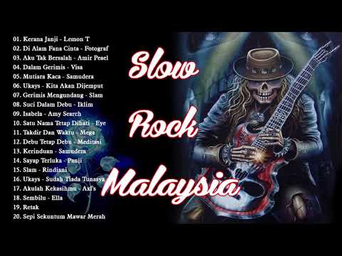 LAGU JIWANG SLOW ROCK POPULAR TERBAIK MALAYSIA 80an 90an // ROCK KAPAK LAMA TERBAIK