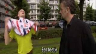 peter power in holland voetbalfan
