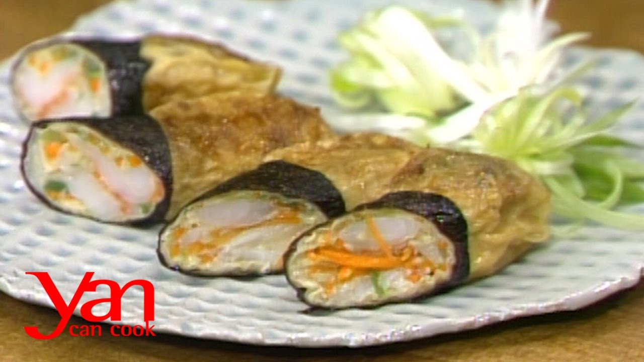 Seafood Rolls | Yan Can Cook | KQED