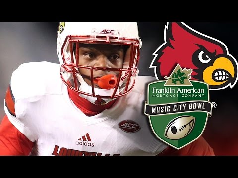 Louisville Football Music City Bowl Hype