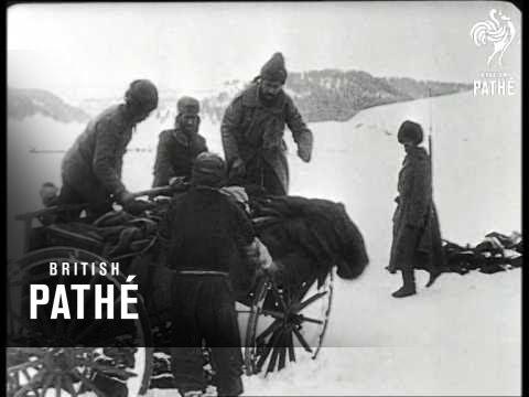 Corpses On Russian / Turkish Border (1914)