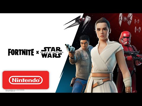 Fortnite X Star Wars - Gameplay Trailer - Nintendo Switch