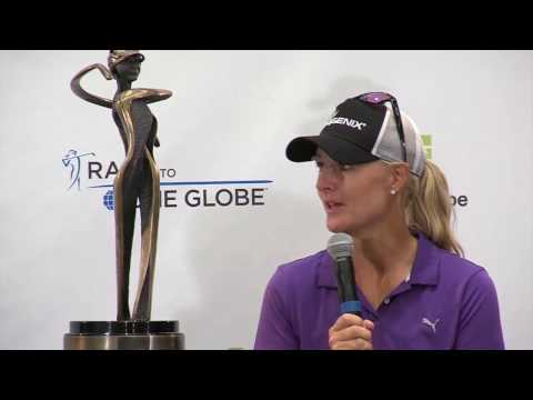 Anna Nordqvist Winner's Press Conference after the 2017 Bank of Hope Founders Cup