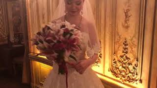 Свадебный букет. Отзыв невесты Марии.