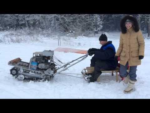 видео: Снегоход своими руками
