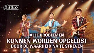 Christelijk lied 'Alle problemen kunnen worden opgelost door de waarheid na te streven'