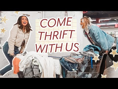 THRIFTING AT THE LARGEST THRIFT STORE IN LA WITH ALEXASUNSHINE83 ♡