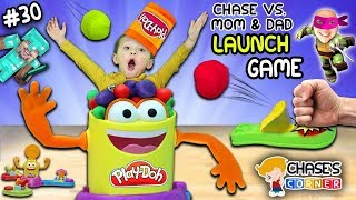 Chase's Corner: PLAYDOH Basketball Launch Game Challenge (#30) | DOH MUCH FUN
