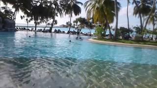 Мальдивы - 2017. У бассейна.