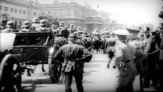 Scenes of the 1930s in Germany, France and the United States HD Stock Footage