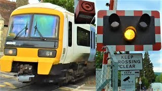 Faulty Alarm at Aylesford Village Level Crossing REPLACED After Over Three Years