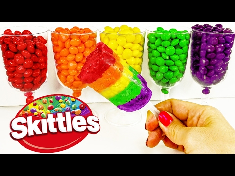 DIY: GIANT SKITTLES Push Pop CANDY TREAT!  Super Tasty & DELICIOUS, Plus SUPER Easy & Satisfying!