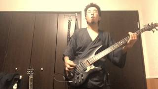 Fear,and Loathing in Las Vegas-Thunderclap (bass cover)