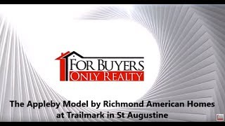 The Appleby by Richmond American Homes at Trailmark in St Augustine; For Buyers Only Realty