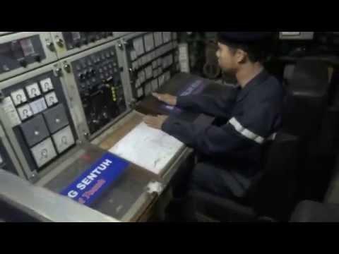 Inside a submarine - SMD Quessant, Melaka, Malaysia.