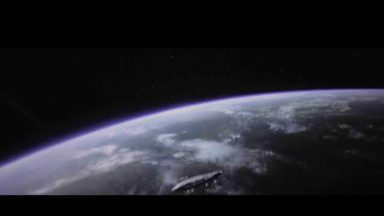 Hd Star Wars Viii The Last Jedi Opening Scene General Hux Poe Dameron Funny Scene Youtube