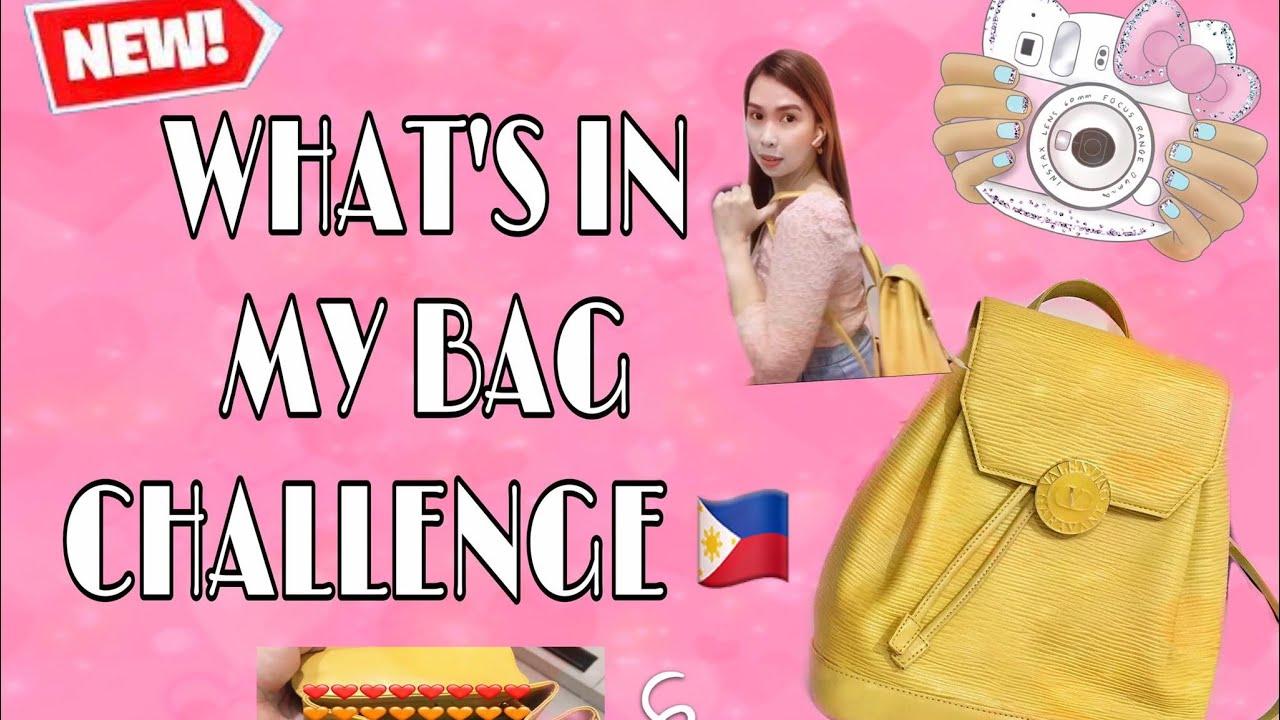 WHAT'S IN MY BAG CHALLENGE | ELAH WANDERLUST | PH