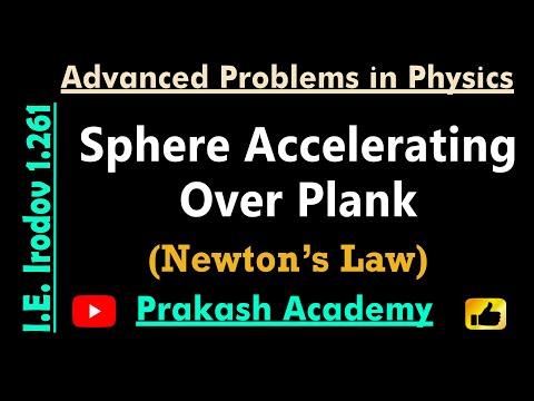 Law of Motion  11  Problem 1 261 for IIT by Guru Sir @Ranchi