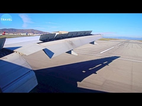 British Airways 777-200ER Stunning Approach, Landing and Taxi in San Francisco!